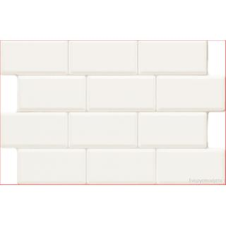 Wall covering tile Lowland Bianco Brillo 34cm x 50cm